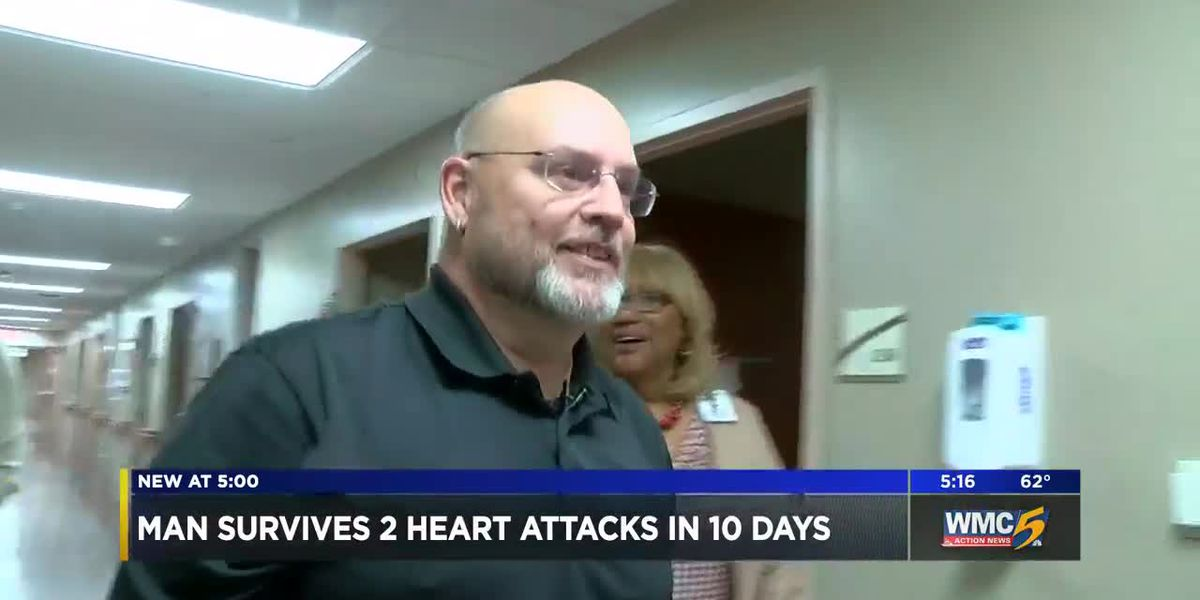 Mid-South man survives 2 heart attacks in 10 days