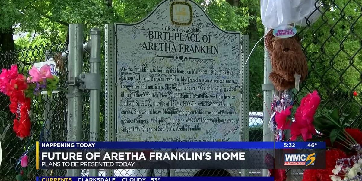 Owner of Aretha Franklin's Memphis home set to present preservation plans in court