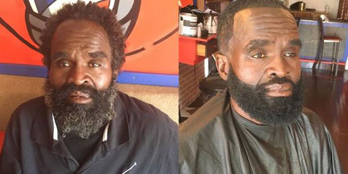 Clarksdale barber transforms homeless man with haircut, trim