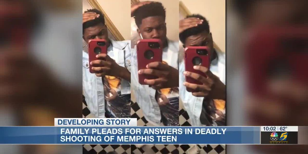 Family pleads for answers in deadly shooting of Memphis teen
