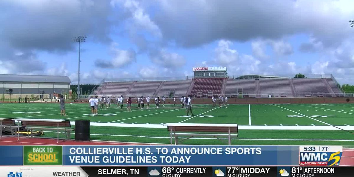 Collierville High School to announce sports venue guidelines
