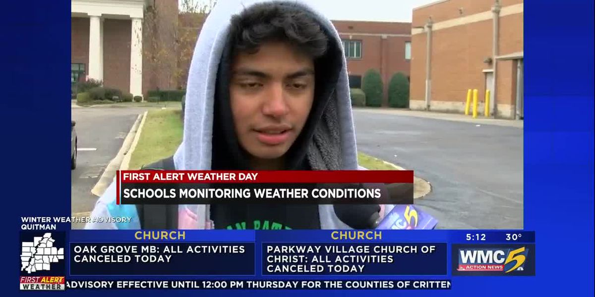 SCS, municipal schools monitoring weather conditions