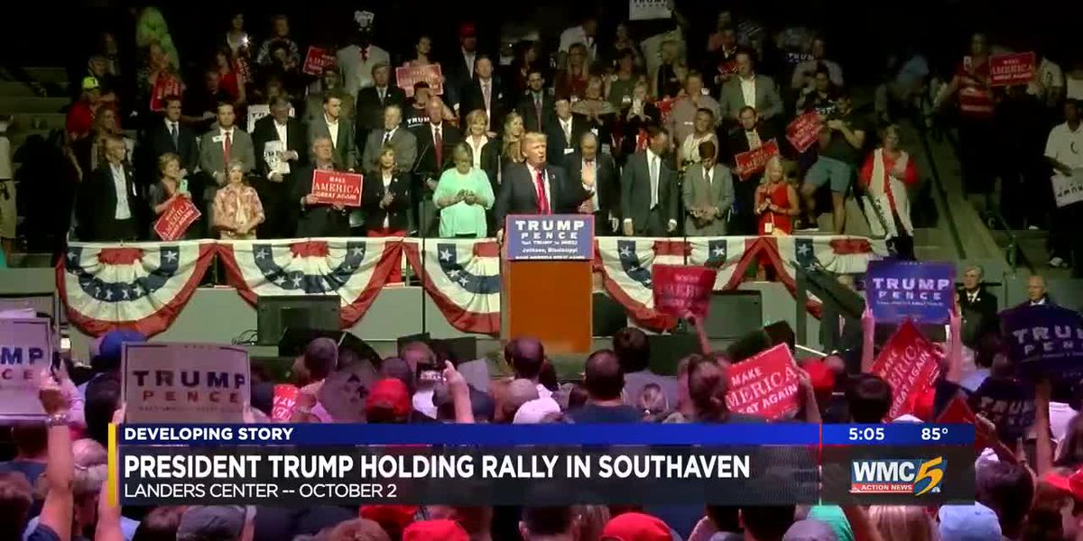 President Trump to hold rally in Southaven
