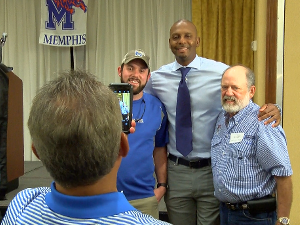 "Penny Hardaway at TD Club of Memphis: ""We're going to win."""