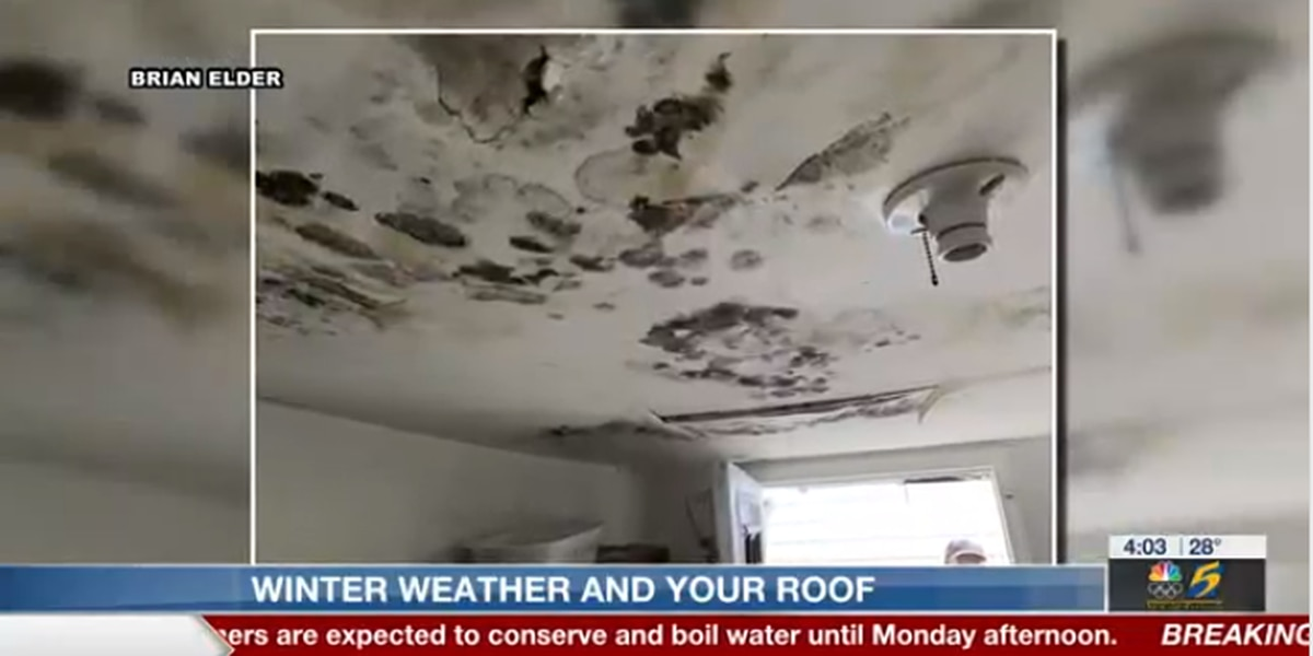 Unusual Mid-South snow causing costly roof damage
