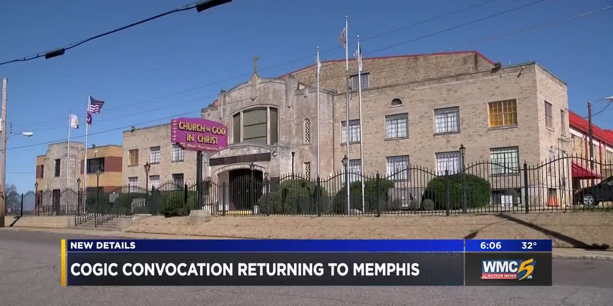 Holy Convocation returning to Memphis in 2021