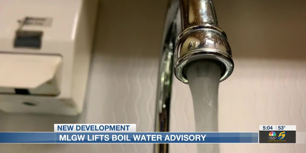 MLGW customers asked to conserve water until Friday afternoon