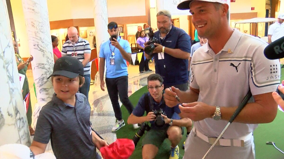 Top golfers tee up smiles at St. Jude