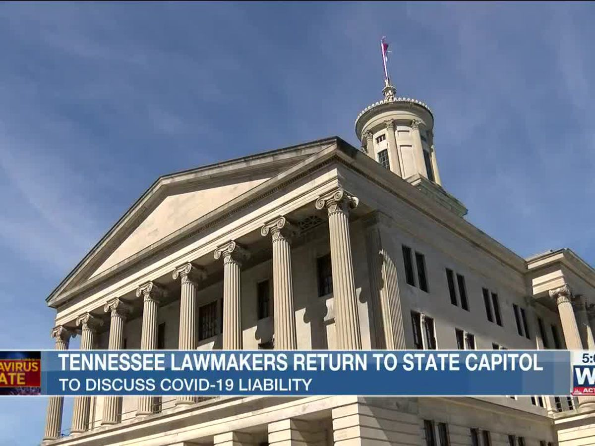 Tennessee lawmakers convene for special session