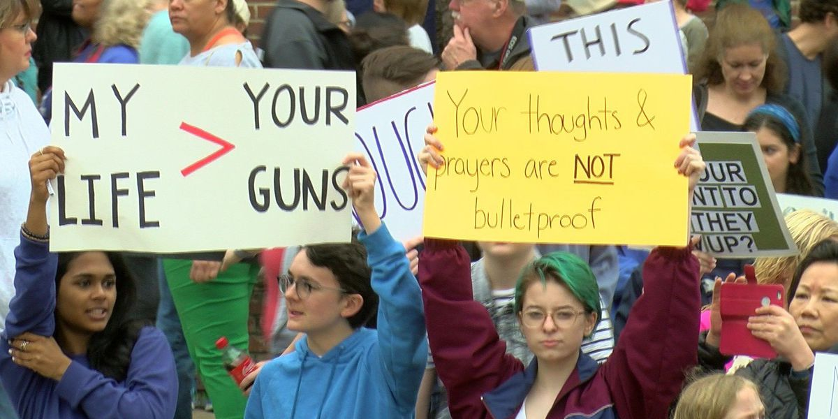 Thousands turn out for Mid-South March For Our Lives protests