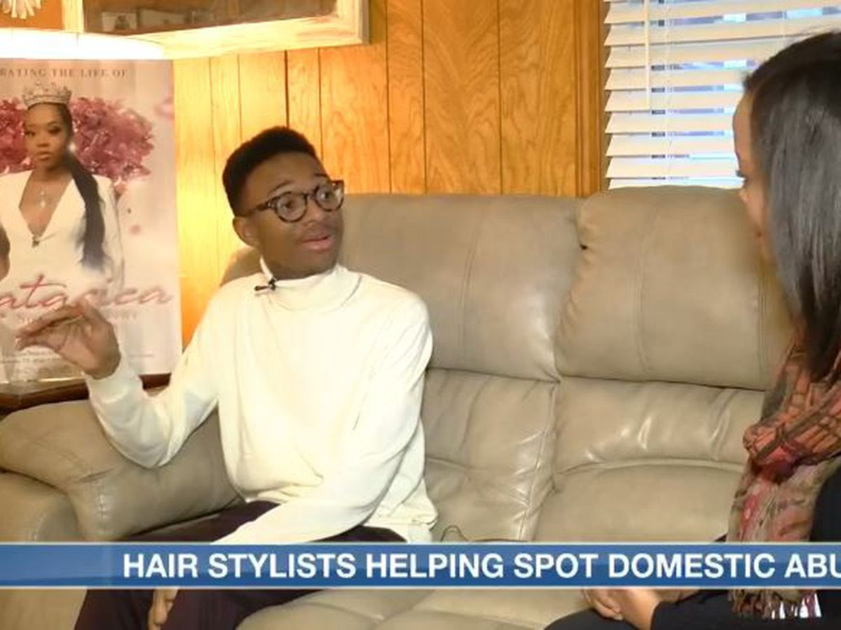 Hair stylists fight domestic abuse