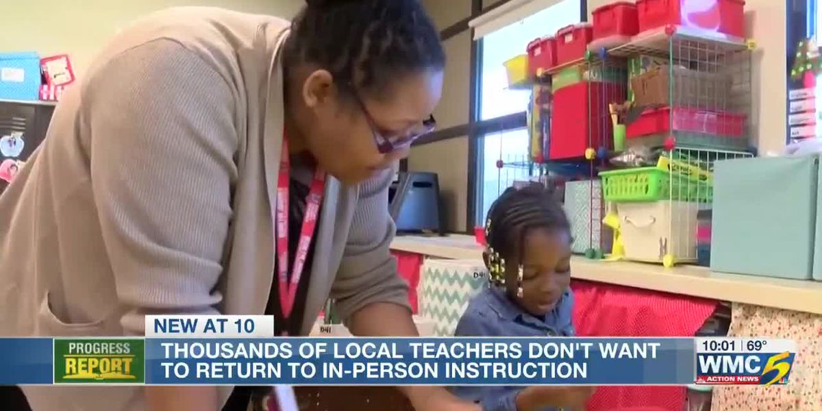 Memphis-Shelby County teachers association says members don't want to return to classroom