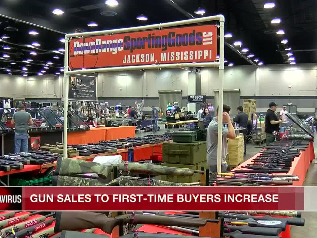 Gun sales rising with first-timers during coronavirus pandemic