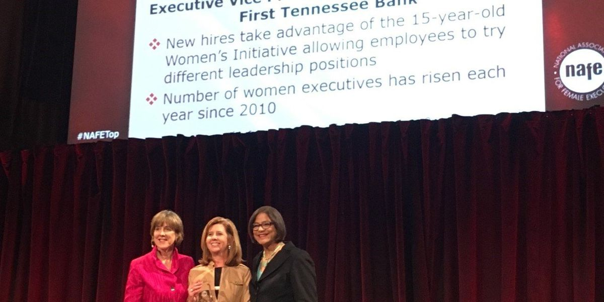 First TN named one of top 60 companies for executive women