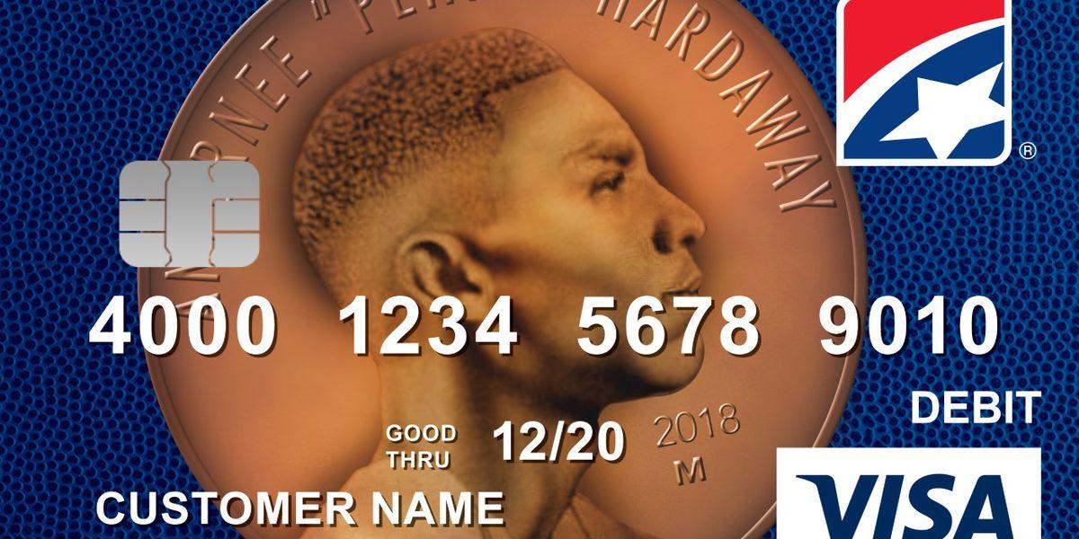 New debit card features Penny Hardaway