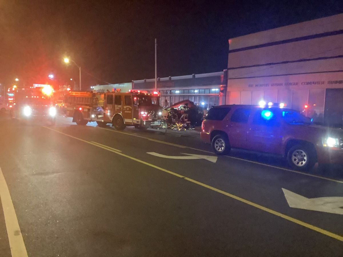 1 dead, 2 injured in crash near Crosstown Concourse