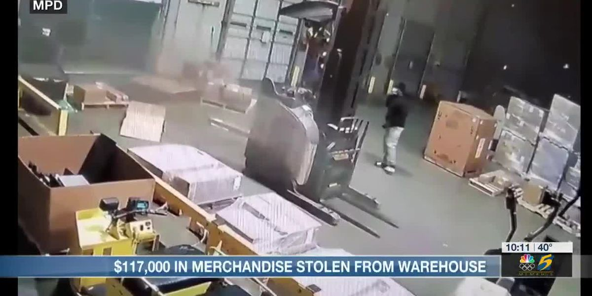 Over $100,000 in merchandise stolen from tool manufacturing company