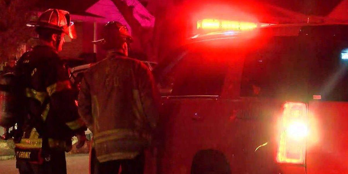 Children escape house fire unharmed