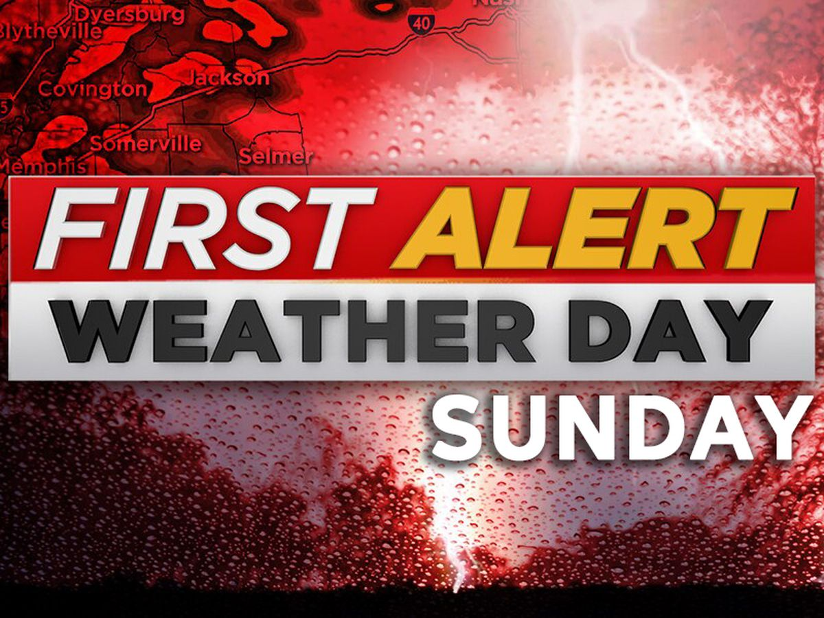 FIRST ALERT: Severe Thunderstorm Warning issued for parts of the Mid-South