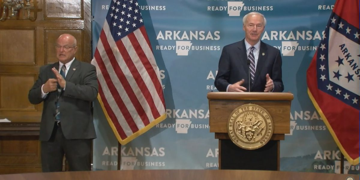 Ark. governor dissatisfied with pace of vaccine administration at long-term care facilities