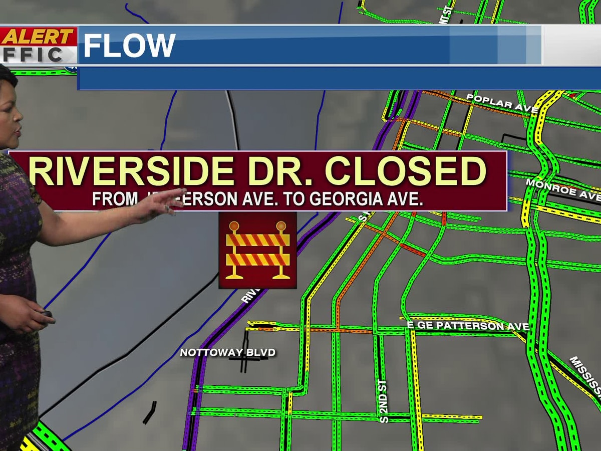 Traffic to be impacted by RiverArtsFest