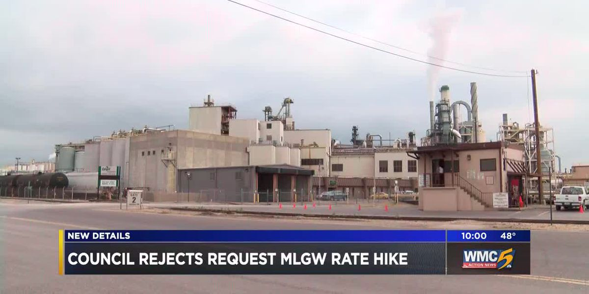 Council rejects MLGW rate hike