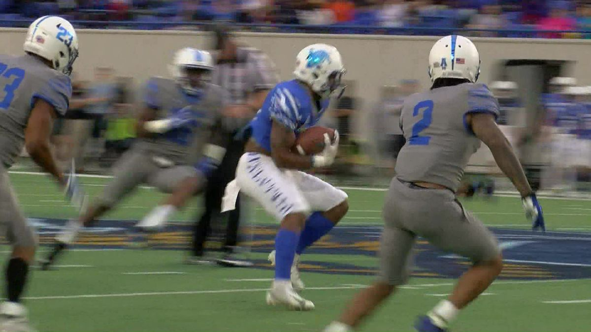 University of Memphis Tigers play Friday Night Stripes game