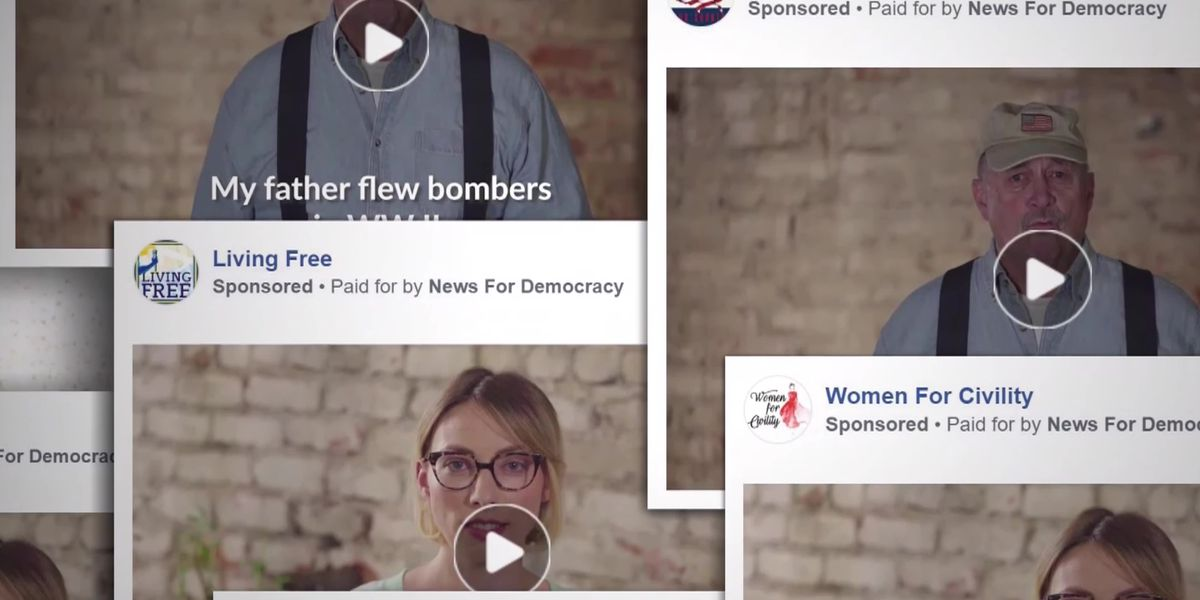 Who's behind Facebook's political ads?