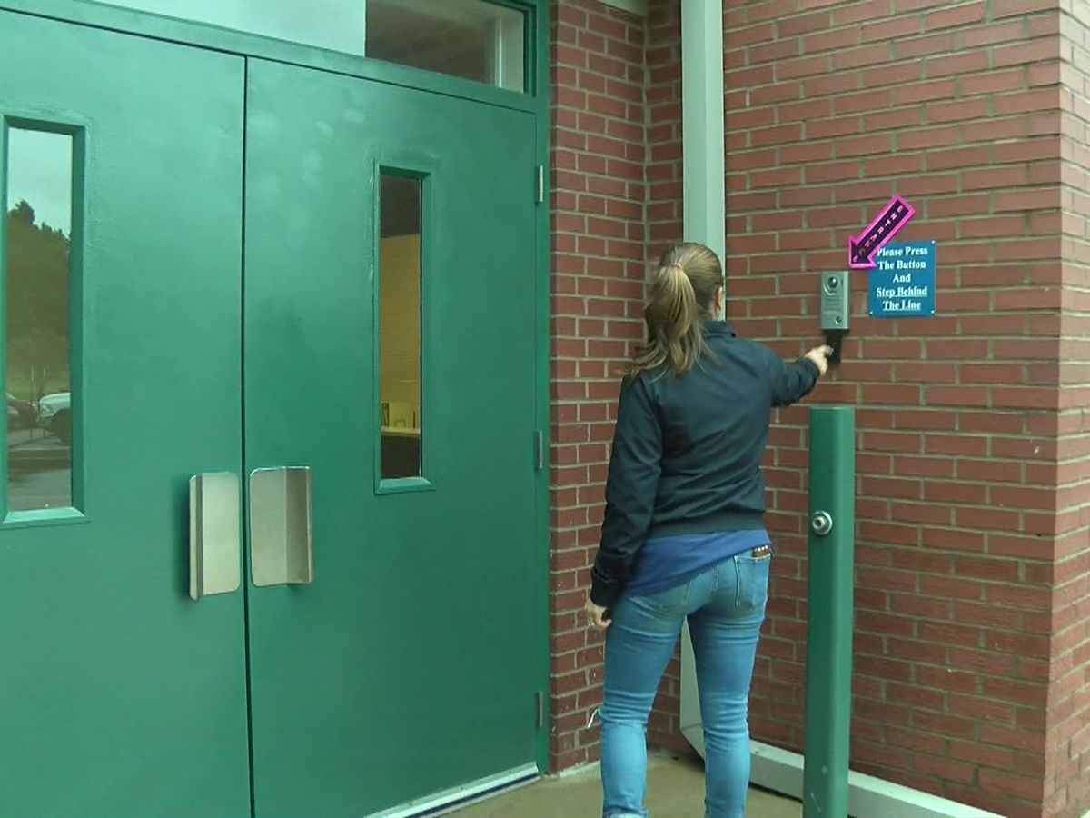 Elementary school launches new enhanced entrance security