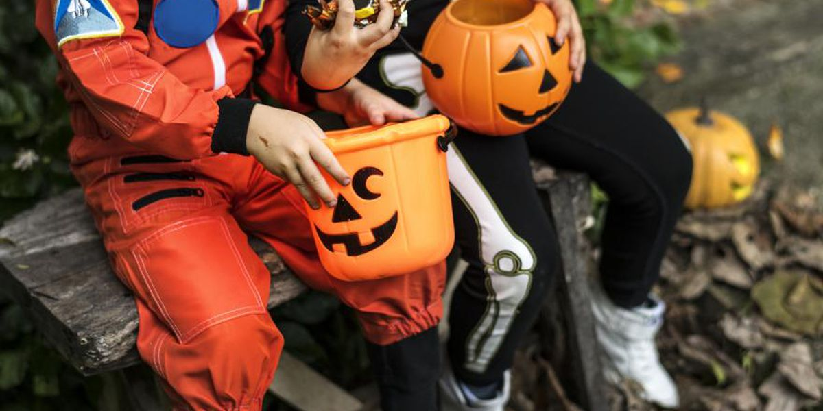 Police warn against trick or treating in town still recovering from storm