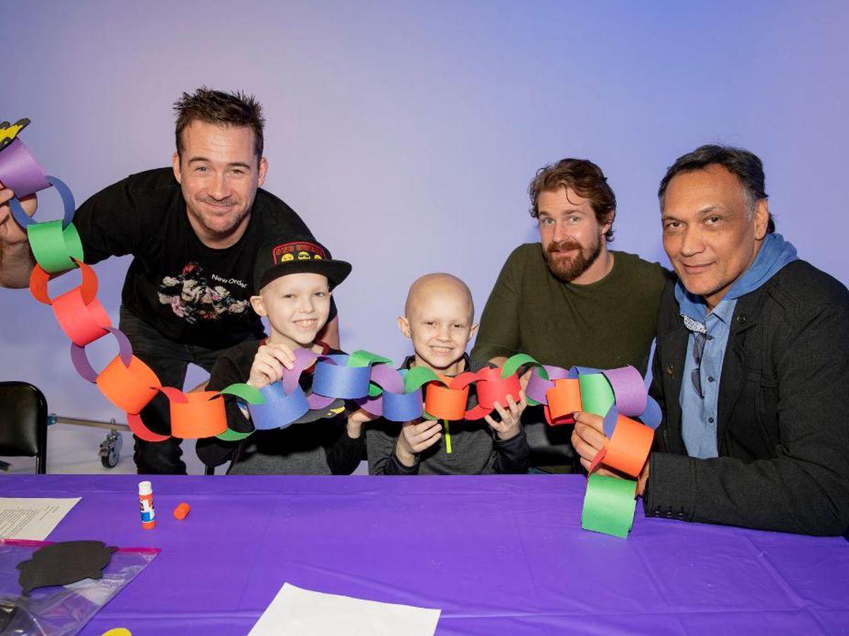 'Bluff City Law' cast visits St. Jude Children's Hospital