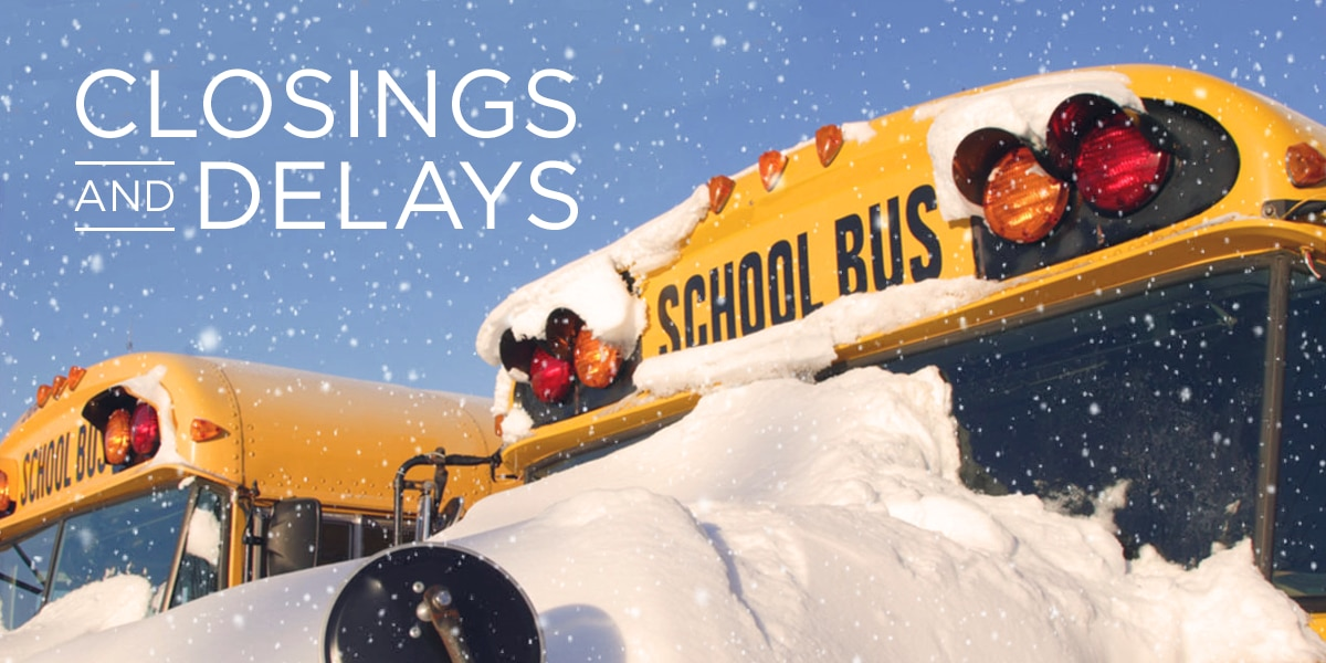 Mid-South winter weather closings, delays on Tuesday, Jan  29