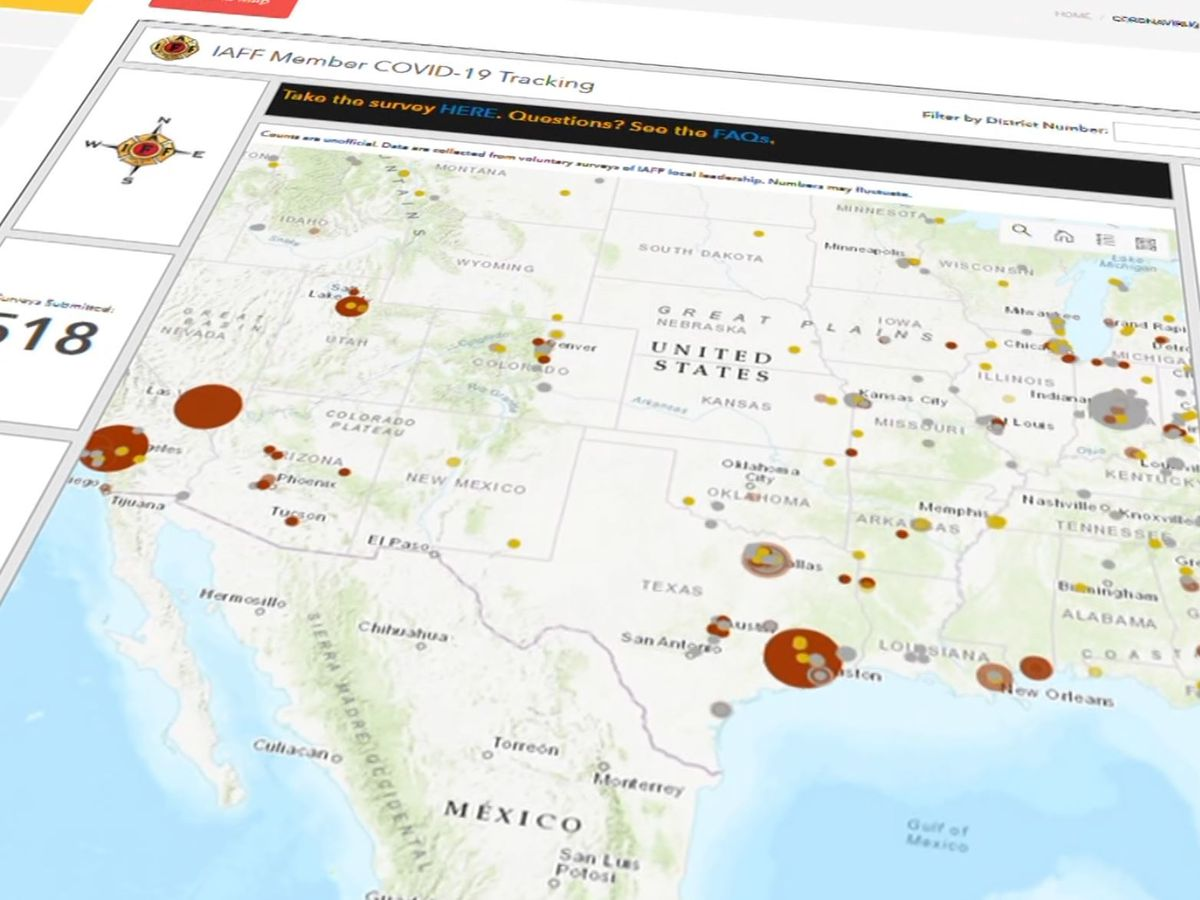 The Investigators: Tracking tool shows fire departments with positive COVID-19 tests